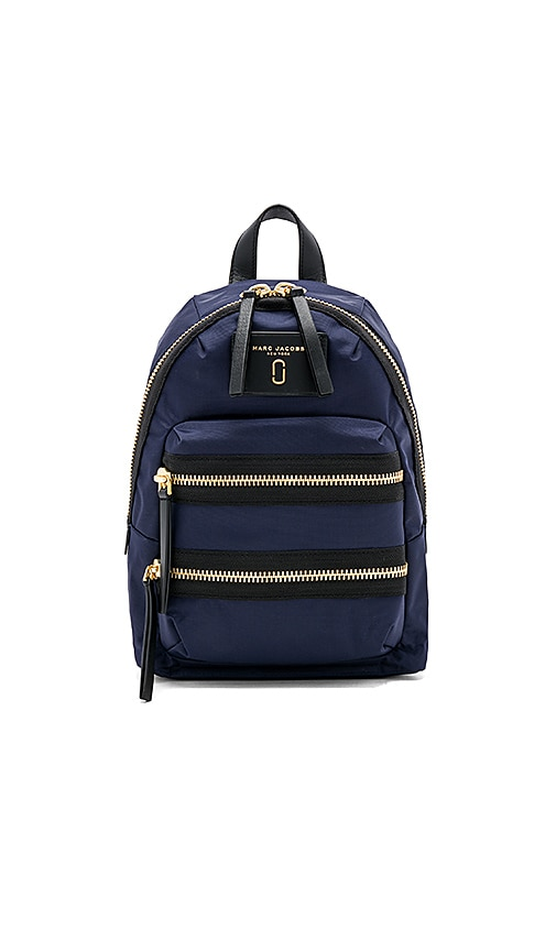 Marc Jacobs Biker Mini Backpack in Navy