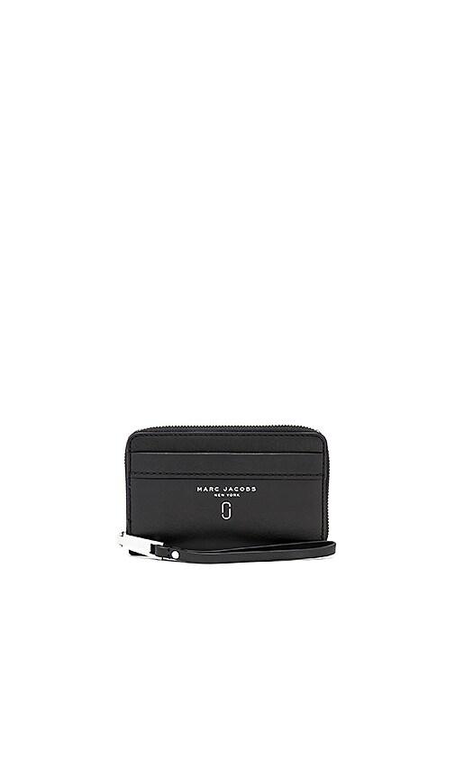 Marc Jacobs Tied Up Zip Phone Wristlet in Black