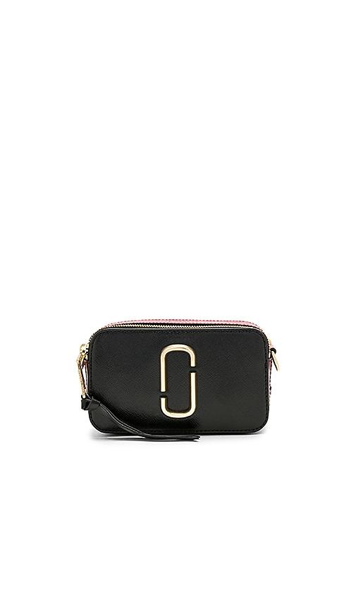 04435d79f2a Marc Jacobs Snapshot Camera Bag in Black & Chianti   REVOLVE