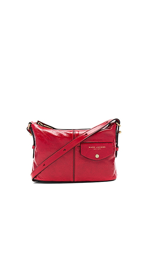 Marc Jacobs Side Sling Bag in Red
