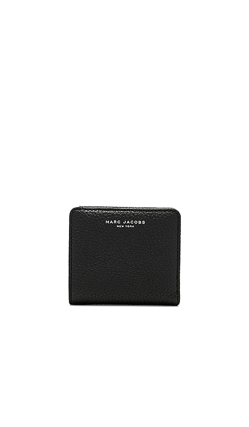 Marc Jacobs Open Face Billfold Wallet in Black