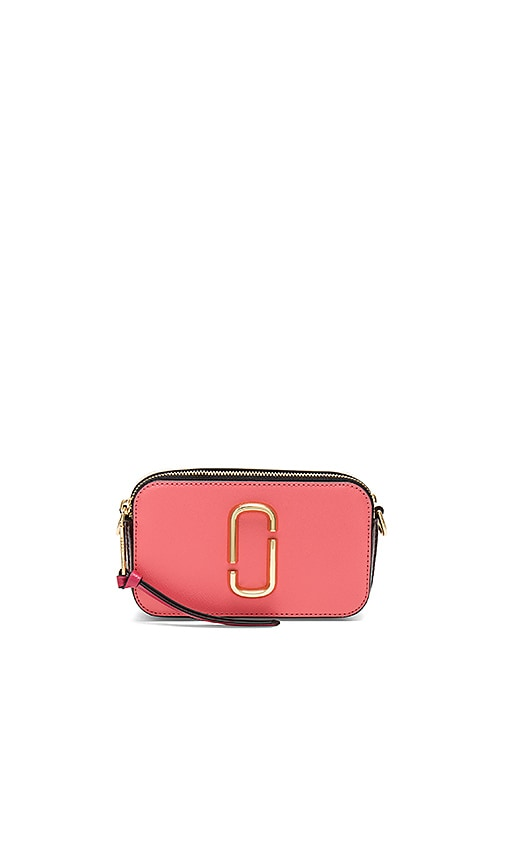 Marc Jacobs Snapshot Bag in Coral