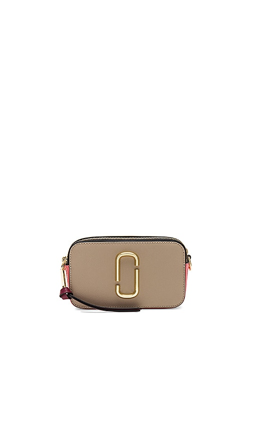 Marc Jacobs Snapshot Bag in Beige