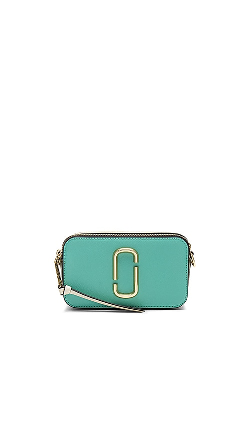 Marc Jacobs Snapshot Bag in Turquoise