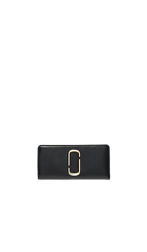 Marc Jacobs Open Face Wallet in Black