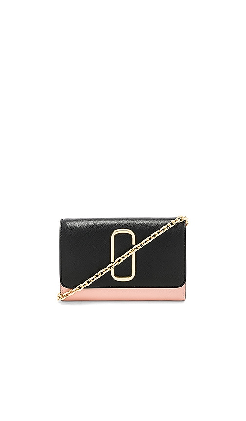 Marc Jacobs Wallet On Chain Bag in Black