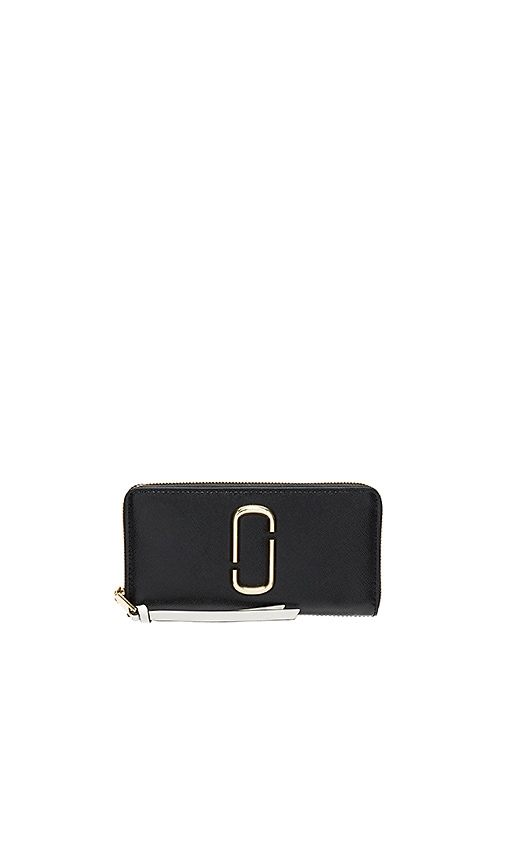 Marc Jacobs Standard Continental Wallet in Black
