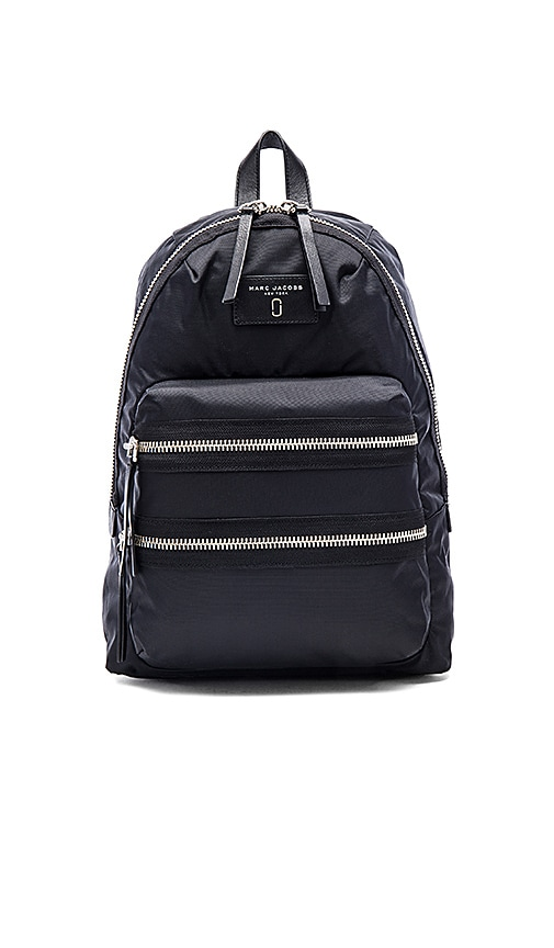 Marc Jacobs Nylon Biker Backpack in Black