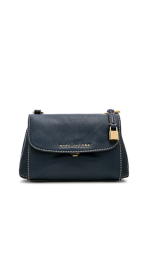Marc Jacobs Mini Boho Grind Bag in Blue Sea | REVOLVE