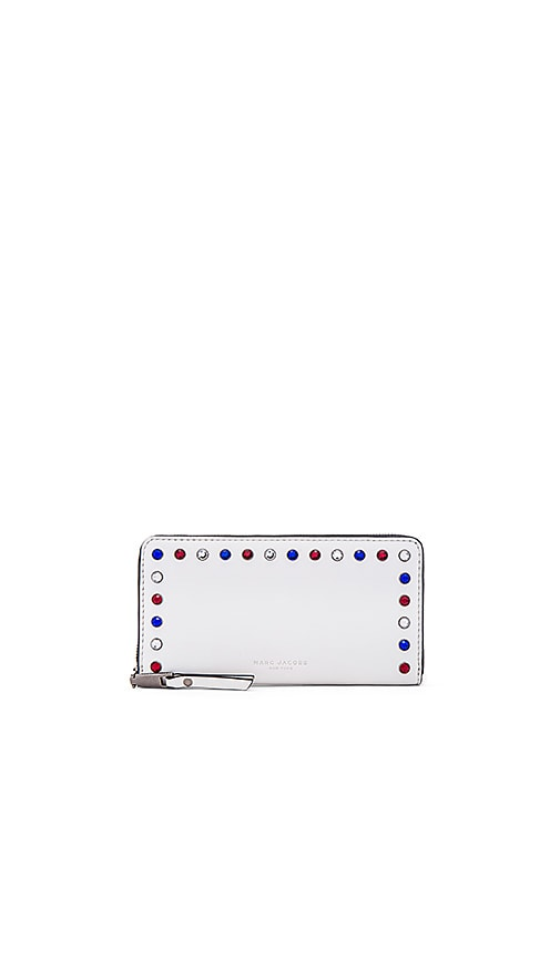 Marc Jacobs P.Y.T. Standard Continental Wallet in White