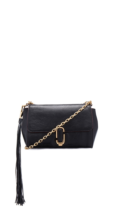 Marc Jacobs J Marc Shoulder Bag in Black