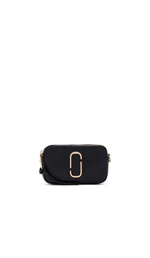 Marc Jacobs Snapshot Colorblock Small Camera Bag in Black