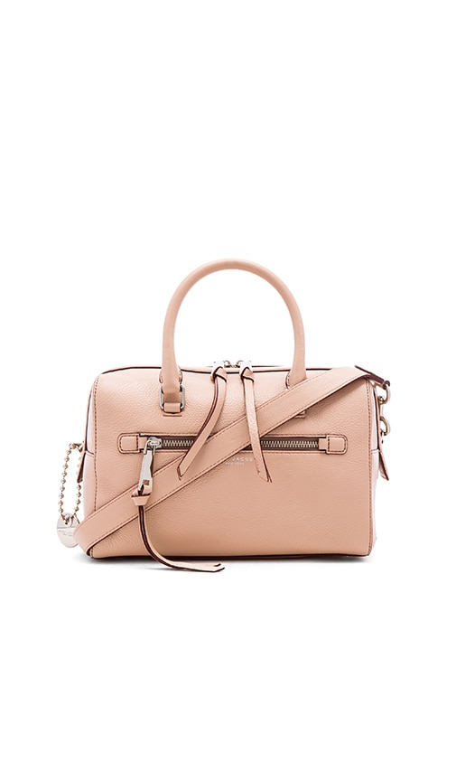 Marc Jacobs Recruit Bauletto Bag in Nude