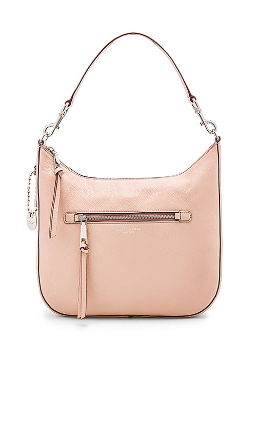 Marc Jacobs Recruit Hobo Shoulder Bag in Blush