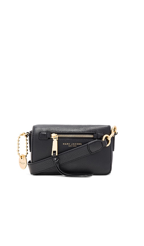 Marc Jacobs Recruit Crossbody in Black