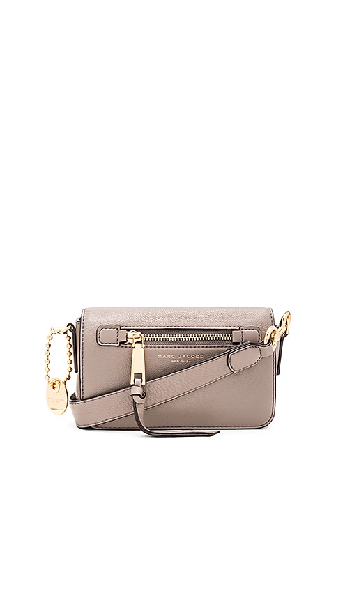 Marc Jacobs Recruit Crossbody in Taupe