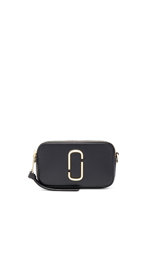 Marc Jacobs Snapshot Small Camera Bag in Black