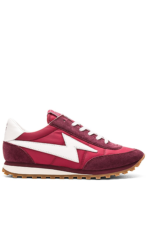 Marc Jacobs Astor Jogger Sneaker in Burgundy