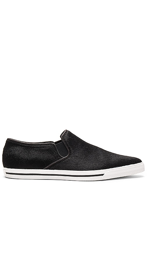 Marc Jacobs Delancey Pointy Toe Calf Hair Slip On in Black