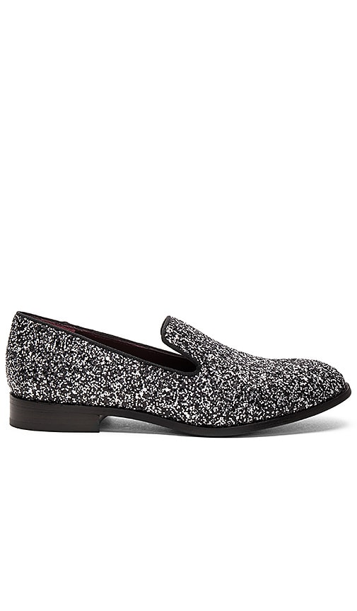 Marc Jacobs Zoe Loafer in Metallic Silver