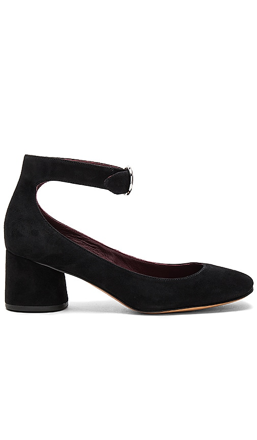 Marc Jacobs Kerry Ankle Strap Pump in Black