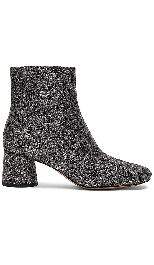 Marc Jacobs Valentine Ankle Boot in Metallic Silver