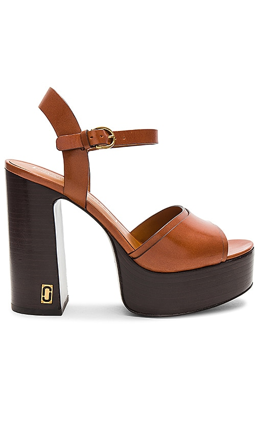 Marc Jacobs Lust Heel in Brown