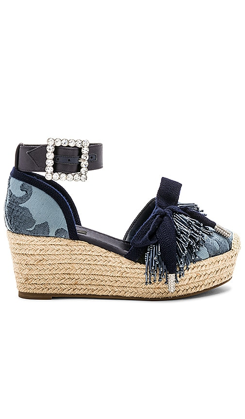 Marc Jacobs Maggie Wedge in Blue