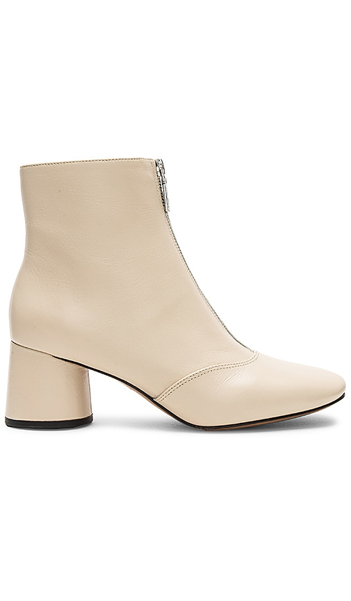Natalie Front Zip Ankle Boot
