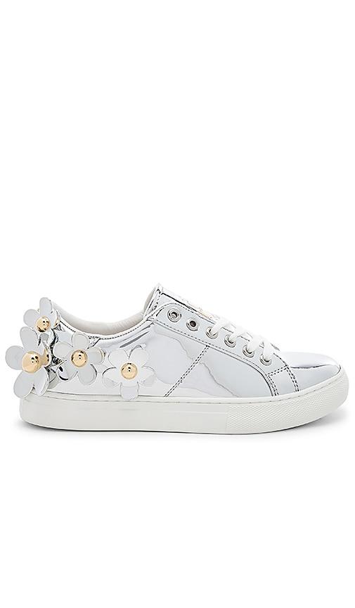 Marc Jacobs Daisy Sneaker in Silver