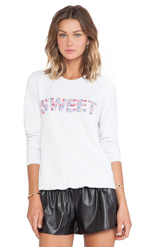 Sweet Beaded Sweatshirt