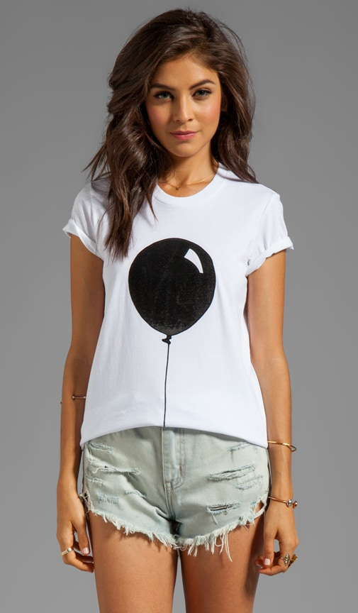 Rubber Graphic Balloon Tee