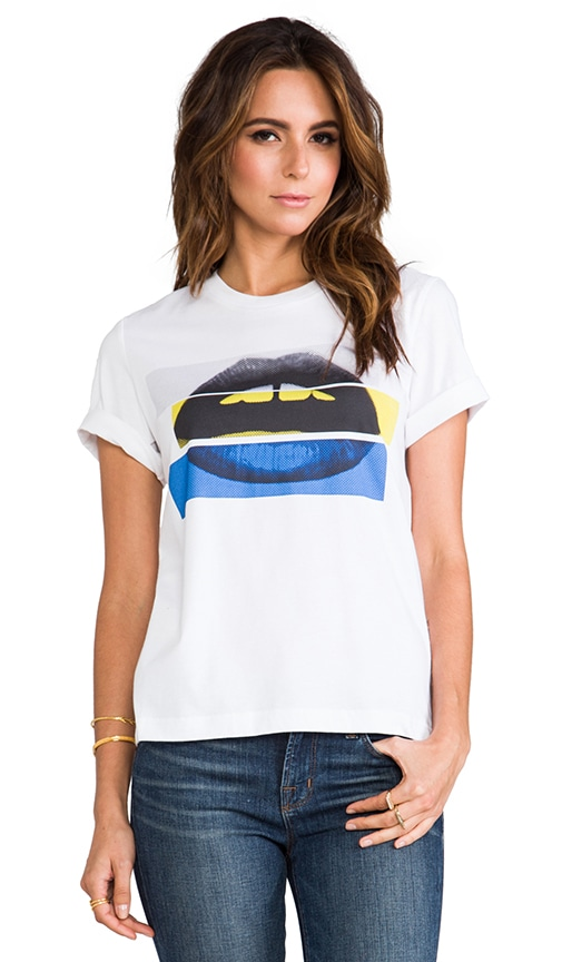 Color Block Lara Lip tee
