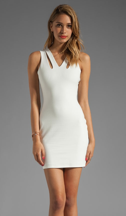 Cut Out Tank Dress