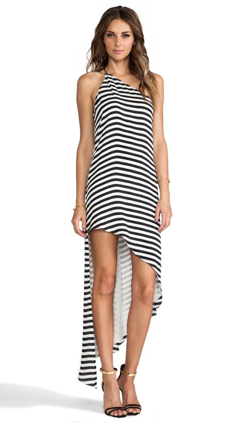 Asymmetrical Shift Maxi Dress