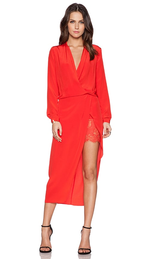 Longsleeve Wrap Dress