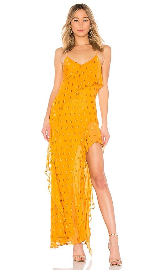 eddd2b39cd6 Strappy Ruffle Gown. Strappy Ruffle Gown. Michelle Mason