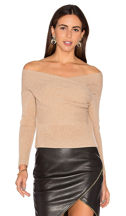 Cross Wrap Sweater