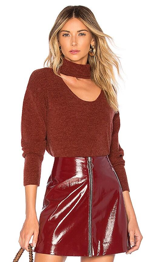 Turtleneck Plunge Sweater