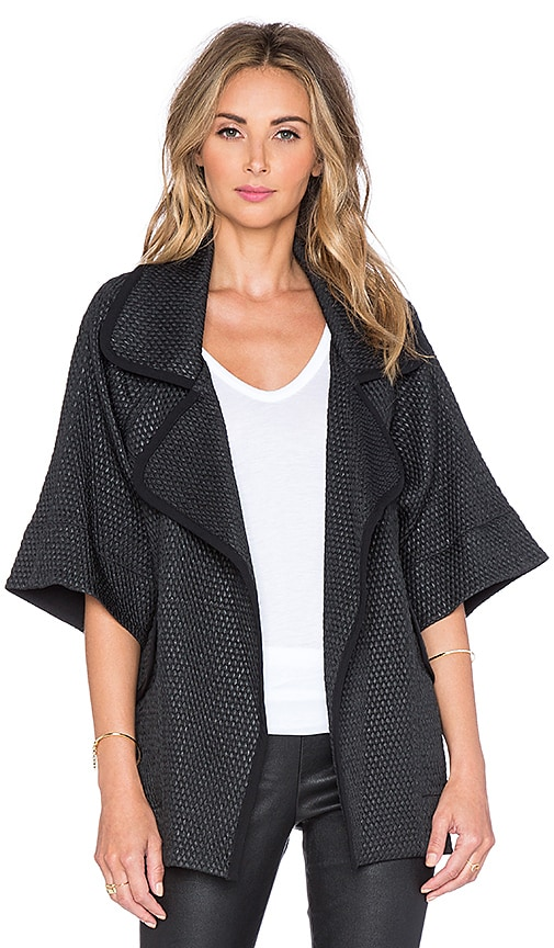 Mason by Michelle Mason Over sized Jacket in Black