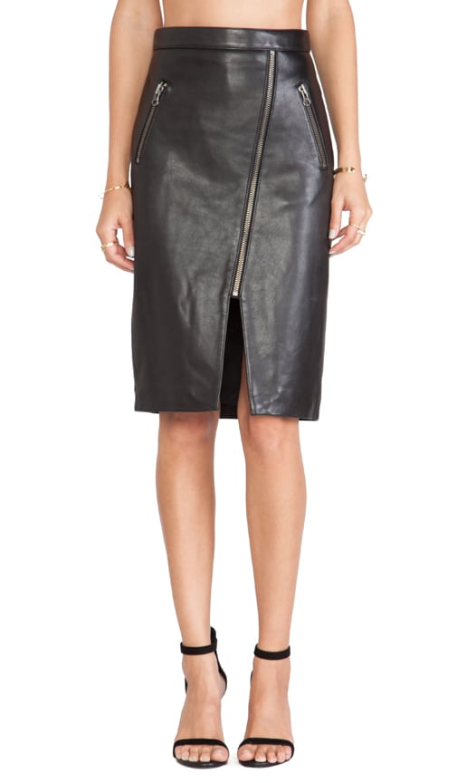 eedf1f741d Michelle Mason Zippered Pencil Skirt in Black. Previous Slide. Next Slide.  Close Modal. Zippered Pencil Skirt
