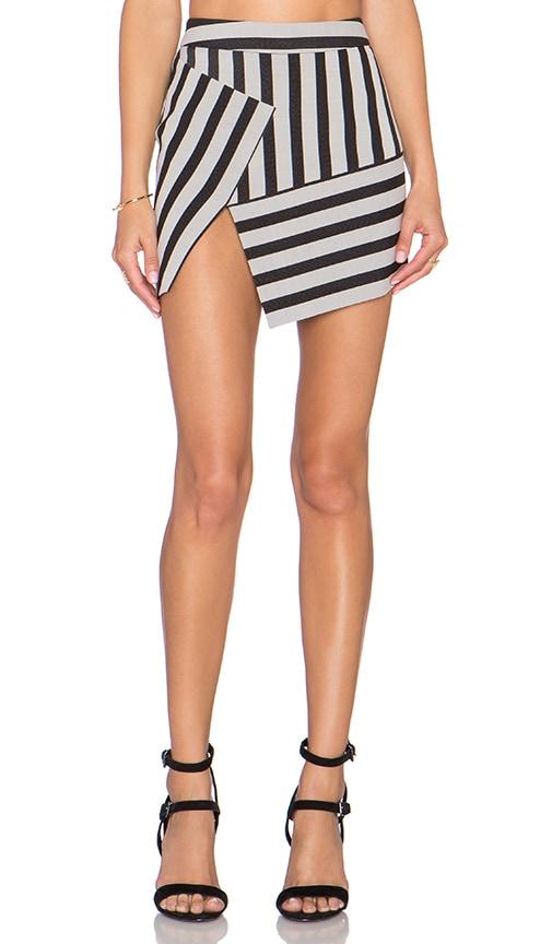 Asym Mini Skirt