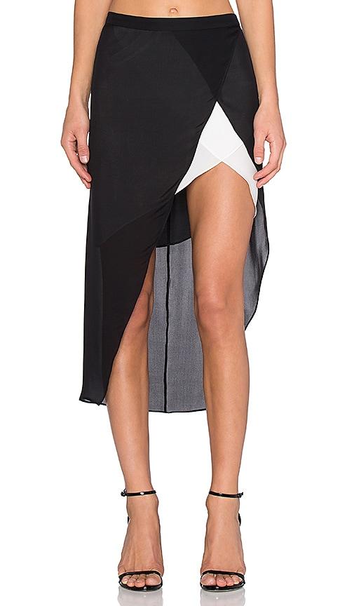 Contrast Slip Skirt