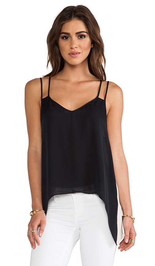 Contrast Double Strap Cami