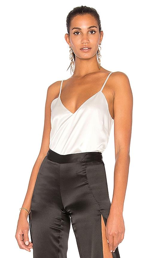 Michelle Mason Silk Cami in White