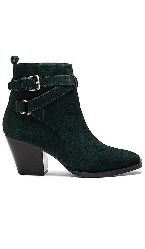 Matiko Amie Booties in Dark Green