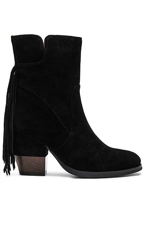 Matiko Fabiola Booties in Black