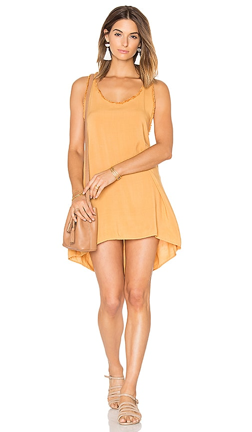 MATE the Label Odette Racerback Dress in Cognac