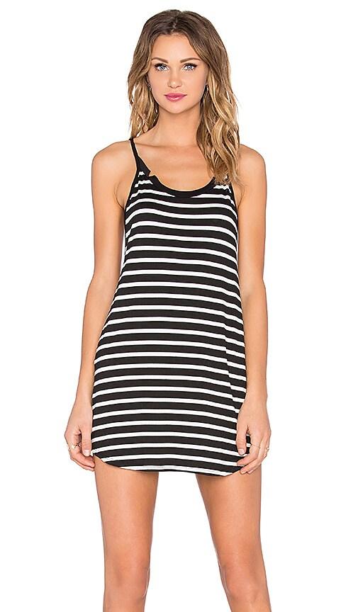 MATE the Label x Dailies Romy Dress in Black & White Stripe