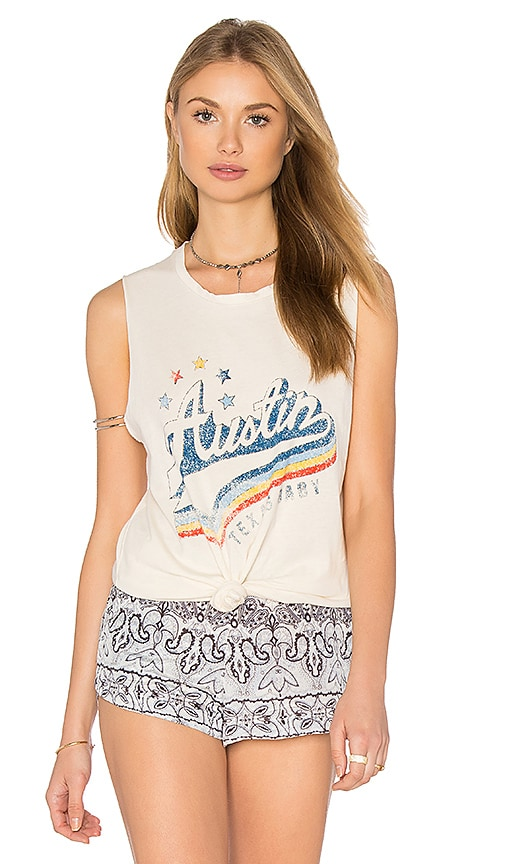 MATE the Label Austin Tank in Vintage White